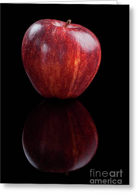 Gala Apple - 001 Greeting Card by Olivier Parent