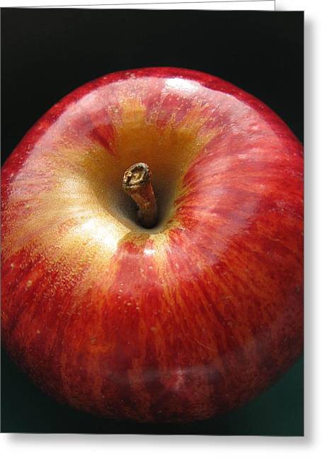 Greeting Card featuring the photograph Gala Apple by Lindie Racz