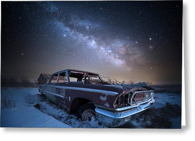 Galaxie 500 Greeting Card by Aaron J Groen