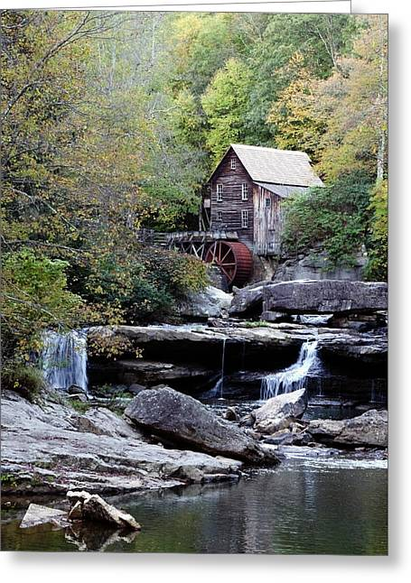 Greeting Card featuring the photograph Galde Creek 2 by Ann Bridges
