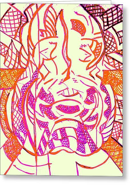 Galemuta-am Greeting Card by Rahel TaklePeirce