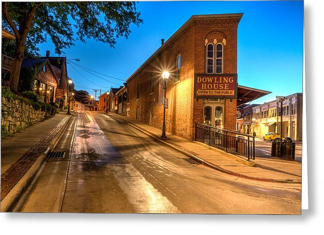 Galena By Night Greeting Card