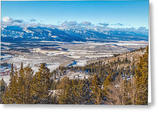 Galena Summit Idaho Greeting Card