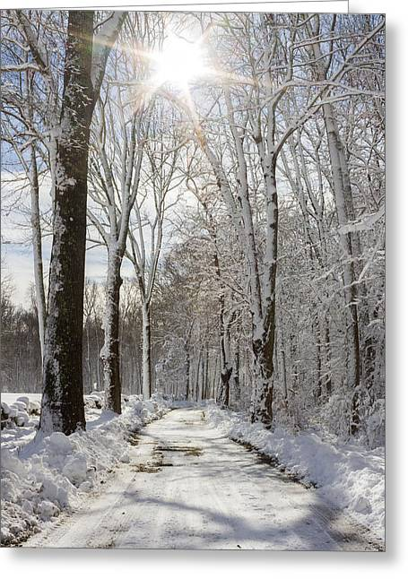 Gales Ferry Winter Wonderland Greeting Card