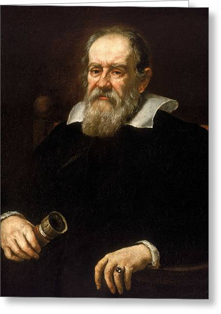 Galileo Galilei - Astronomer And Mathematician Greeting Card by War Is Hell Store