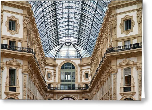 Galleria Details Greeting Card by Valentino Visentini