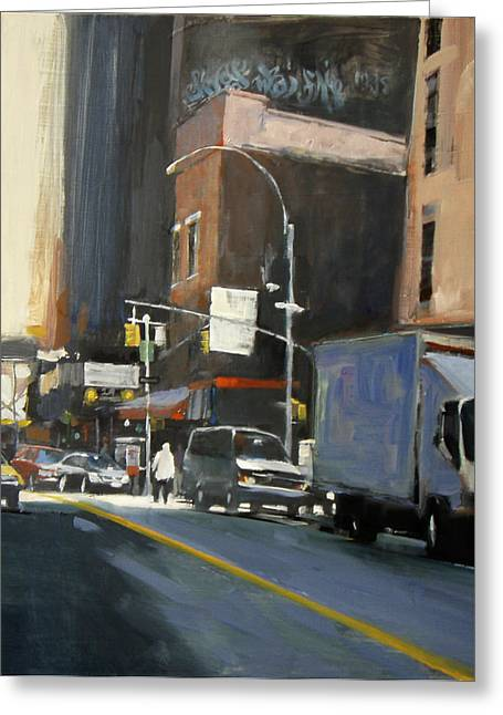 Gallery District Greeting Card by Patti Mollica