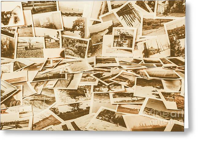 Gallery Of Old Landscape And Antique Places Greeting Card