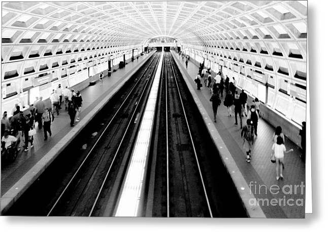 Gallery Place Metro Greeting Card