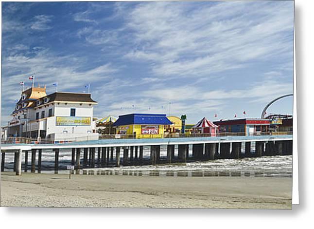 Galveston Pleasure Pier Greeting Card