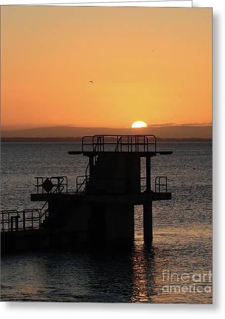 Galway Bay Sunrise Greeting Card