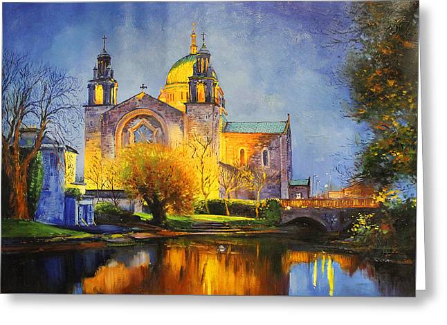 Galway Cathedral, Ireland Greeting Card by Conor McGuire