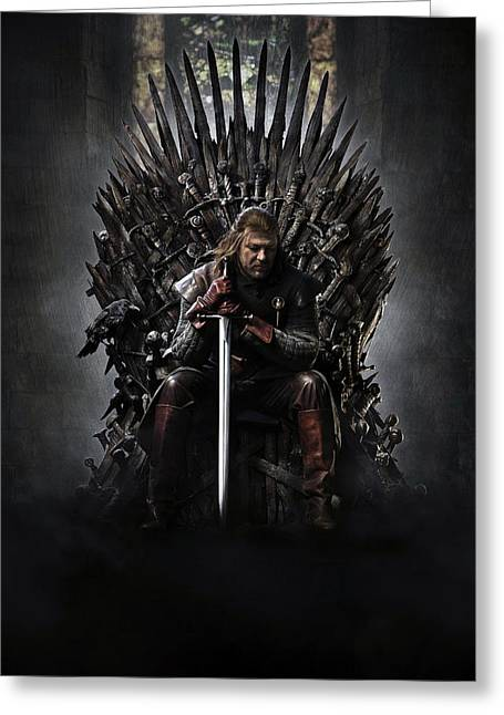 Game Of Thrones 2011 Greeting Card