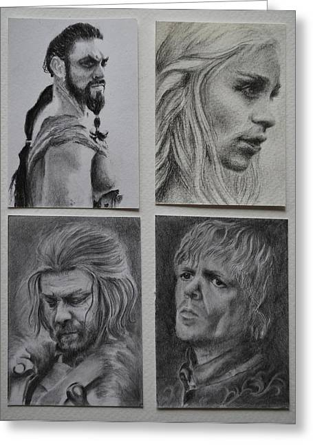 Game Of Thrones Group Greeting Card