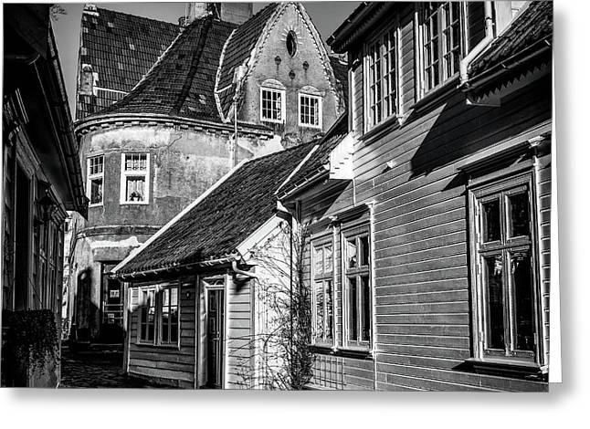 Gamle Stavanger 2 Greeting Card