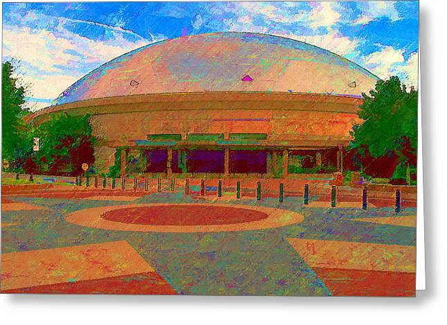 Gampel Uconn Greeting Card