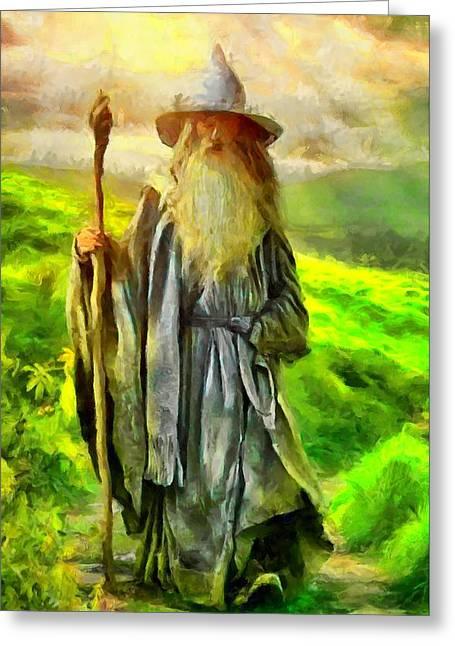 Gandalf, The  Grey Greeting Card