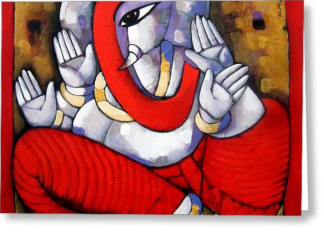 Ganesha II Greeting Card