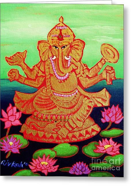 Ganesh chaturthi greeting cards pixels ganesha greeting card m4hsunfo