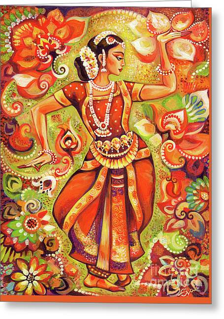 Ganges Flower Greeting Card