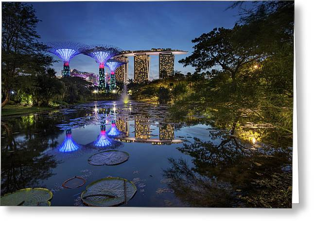 Garden By The Bay, Singapore Greeting Card