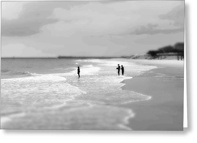 Garden City Beach I Greeting Card by Ivo Kerssemakers