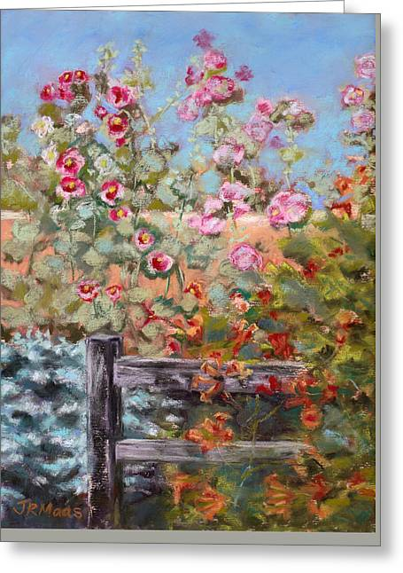 Garden Companion Greeting Card by Julie Maas