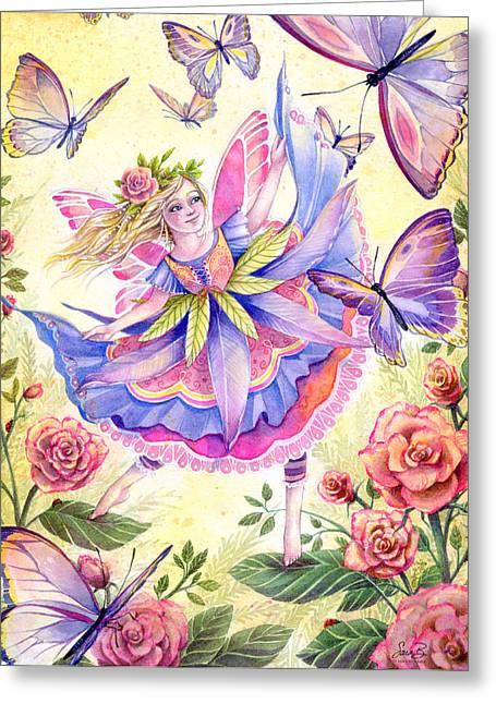 Garden Dancer Greeting Card
