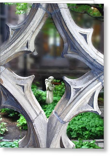 Garden Greeting Card by Elizabeth Reynders
