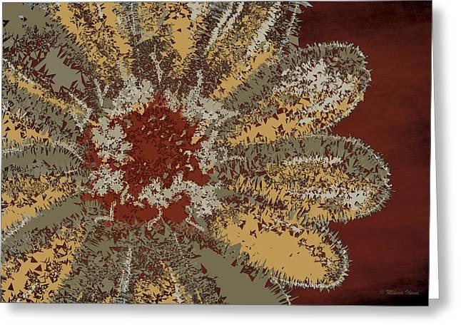 Garden Flower Greeting Card by Milena Ilieva