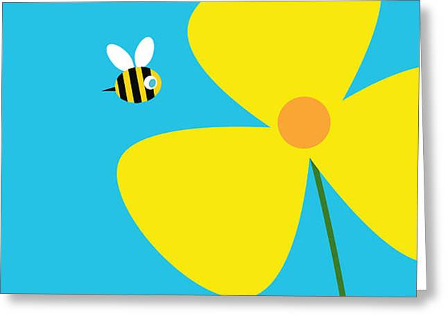 Garden Flower Greeting Card by Pbs Kids