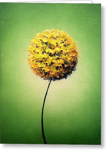 Garden Glow Greeting Card by Rachel Bingaman