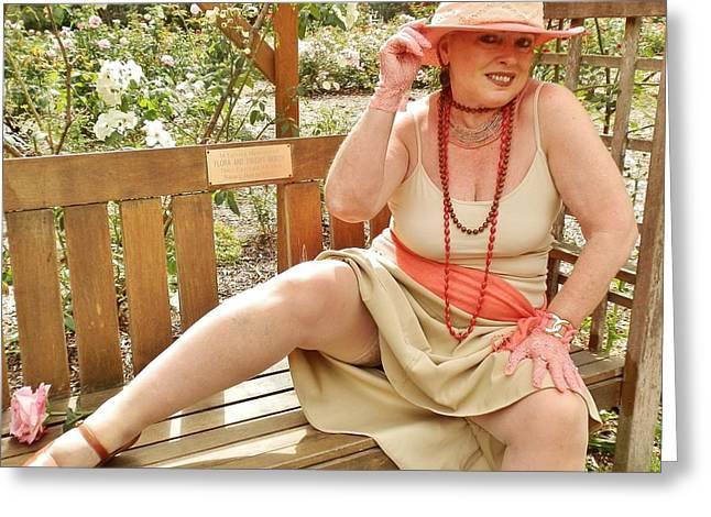 Garden Gypsy Greeting Card