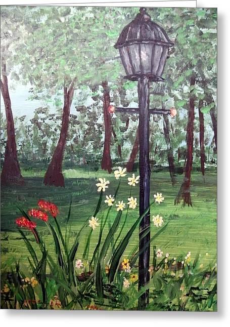 Garden Light Greeting Card