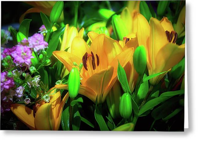 Garden Lily Greeting Card