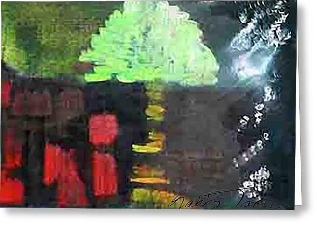Garden Of Eden Greeting Card