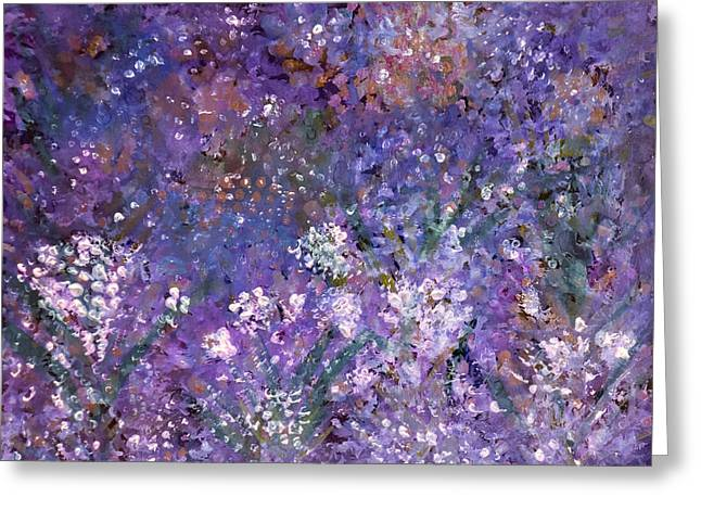 Garden Of Eden Painting Greeting Card by Don  Wright