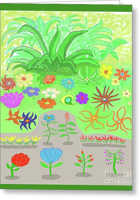 Garden Of Memories Greeting Card by Fred Jinkins