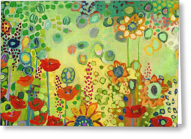 Garden Poetry Greeting Card