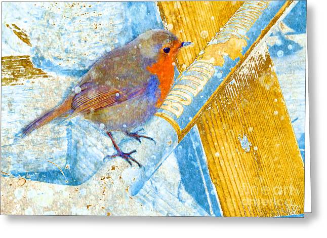 Garden Robin Greeting Card