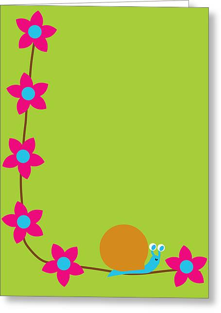 Garden Snail Greeting Card by Pbs Kids