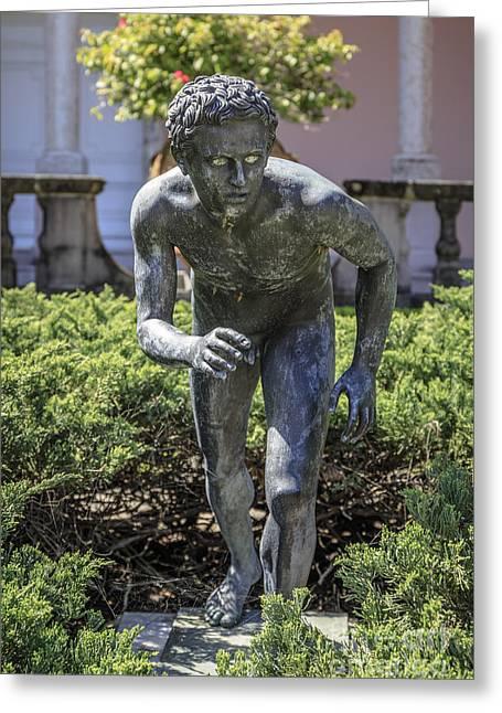 Garden Statue Ringling Museum  Greeting Card