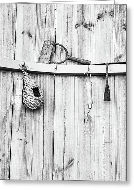 Garden Tools Greeting Card