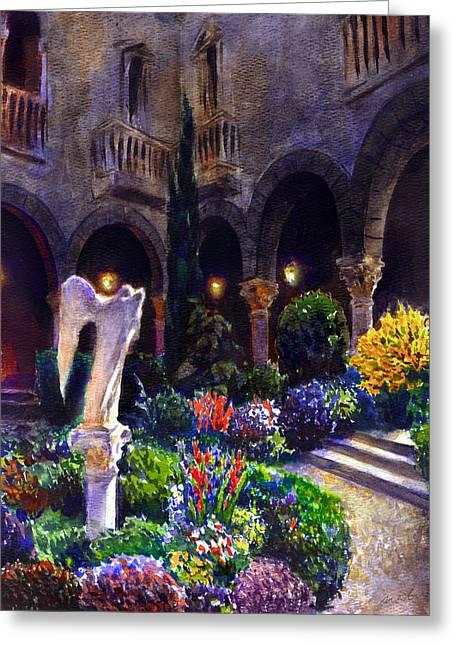 Garden Greeting Card by Valeriy Mavlo