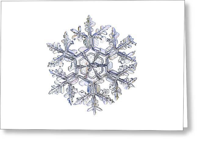 Gardener's Dream, White Version Greeting Card