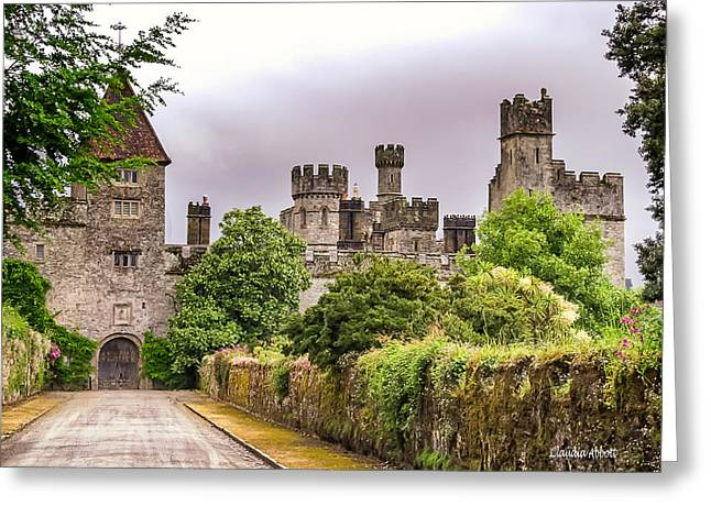 Greeting Card featuring the photograph Gardens At Lismore Castle by Claudia Abbott