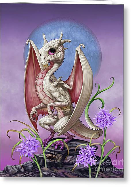 Garlic Dragon Greeting Card by Stanley Morrison