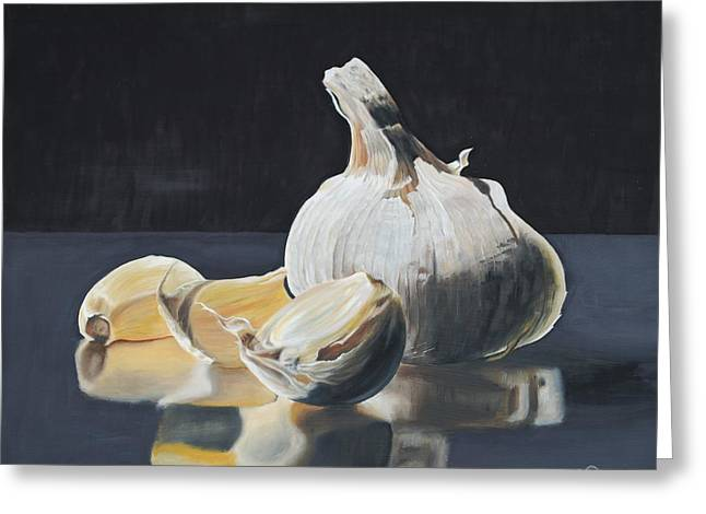 Garlic I Greeting Card