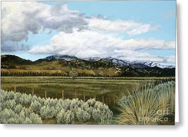 Garner Valley Meadow Greeting Card