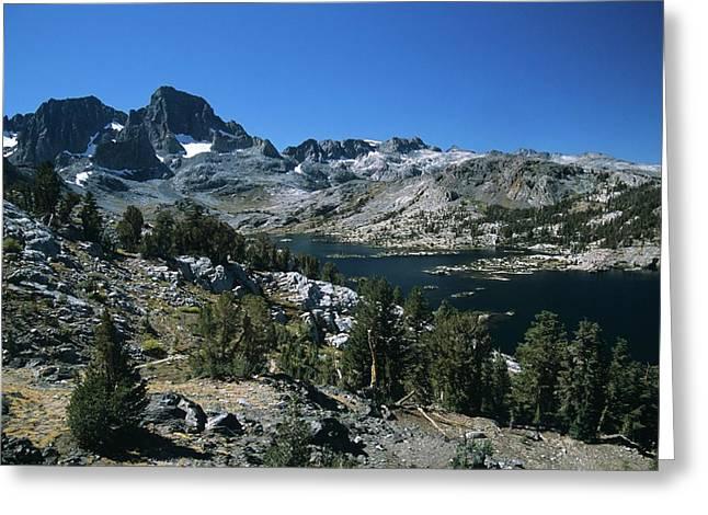 Garnet Lake And Banner Peak Greeting Card